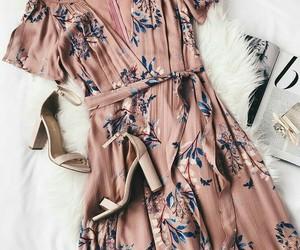 dress, fashionable, and girly image