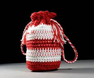 bag, crochet, and etsy image