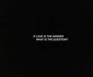 ?, answer, and Lyrics image