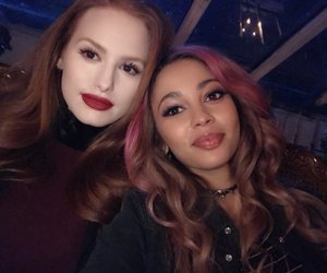 vanessa morgan, riverdale, and madelaine petsch image