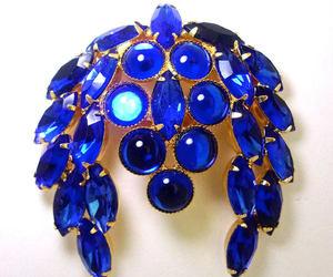 royal blue, renaissance fair, and cabochons image