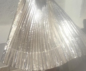 fashion, silver, and skirt image