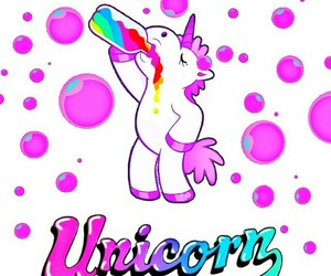 kawaii, tumblr, and unicorn image