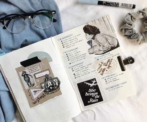 bullet journal, journal, and tumblr image