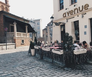 cafe, Krakow, and Poland image
