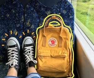 bus, converse, and girl image