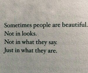 beautiful, quote, and though image