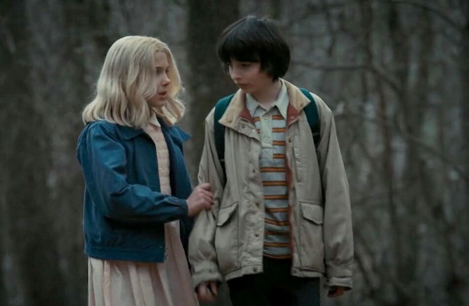 eleven, stranger things, and mileven image