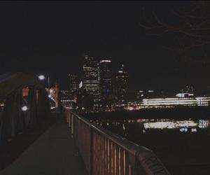aesthetic, city, and dark image