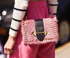 pink, Prada, and lovefashion image