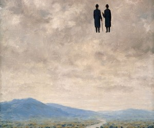 art, rene magritte, and painting image
