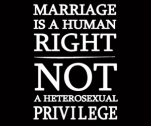 gay, marriage, and Right image