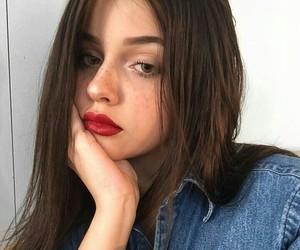 girl, make up, and natural image