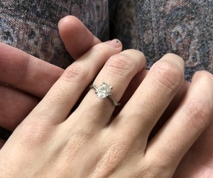 engagement, girl, and inspiration image