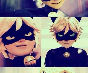 Chat Noir, Adrien, and miraculous image