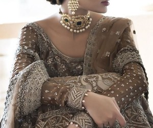 bride, pakistan, and dulhan image