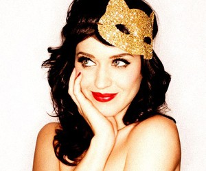 katy perry and mask image