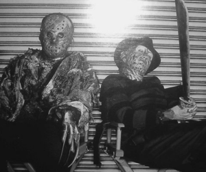 friday the 13th, Nightmare on Elm Street, and freddy vs jason image