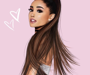art, beautiful, and ariana grande image