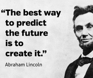abraham lincoln, create, and palabras image