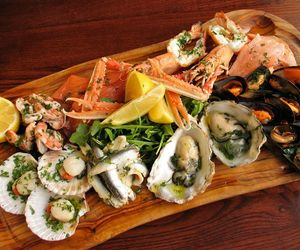 seafood platter melbourne, lobster bar, and chilled seafood platter image