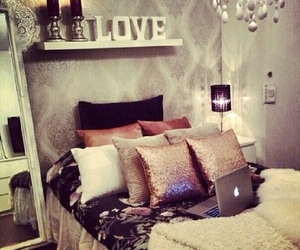 bedroom, mac, and home design image