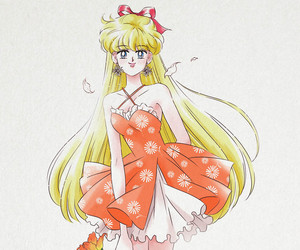 anime, sailor moon, and fanart image