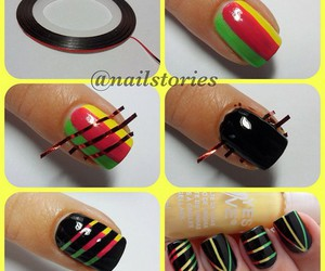 nails, rasta, and cute image