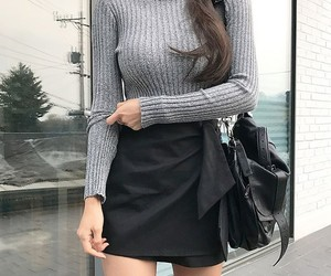 aesthetic, clothes, and grey image
