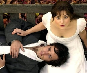 pride and prejudice, mr darcy, and jane austen image