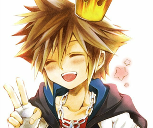 kingdom hearts, anime, and sora image