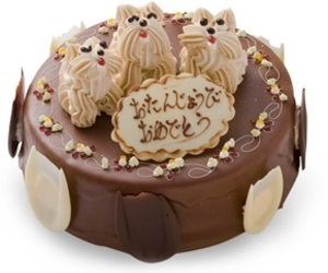 cake, sweets, and 犬 image