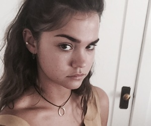 maia, maia mitchell, and the fosters image