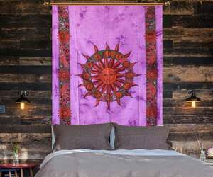 wall hanging, wall hanging tapestry, and wall tapestry image
