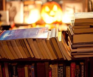 books, autumn, and fall image