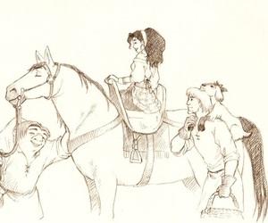 dame, esmeralda, and hunchback image