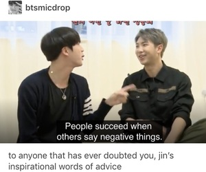 jin, kpop, and post image