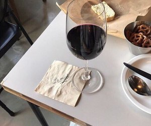 wine and food image
