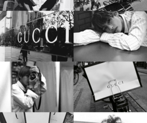 aesthetic, bts, and gucci image
