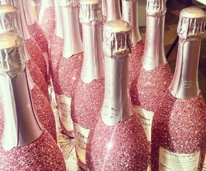 champagne, glitter, and pretty image