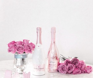 champagne, love, and pink image