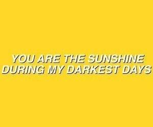 Quote in yellow shared by Theodo♡•♡ on We Heart It