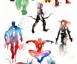 black widow, Hulk, and Marvel image