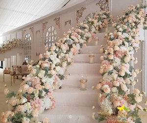 flowers, beautiful, and decor image