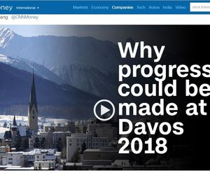 cnn and davos 2018 image