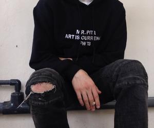 black, boy, and grunge image