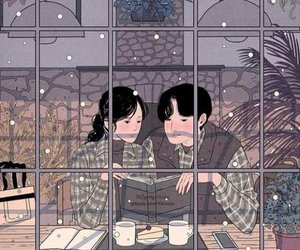love and winter image