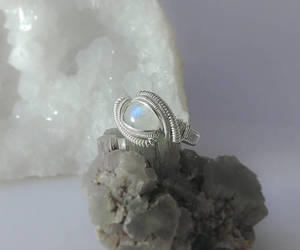 etsy, valentine's gift, and wire wrapped ring image