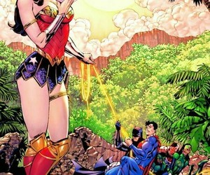 book, wonder woman, and DC image