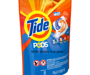 gluten free and eating tide pods image